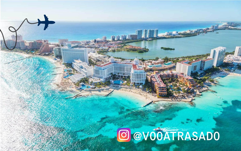 Empresa Voo Atrasado mediou acordo de R$ 10.800,00 para família em viagem para Cancún