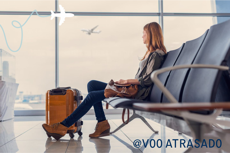 Cliente Voo Atrasado foi indenizado a R$ 4.000,00 por atraso de voo.