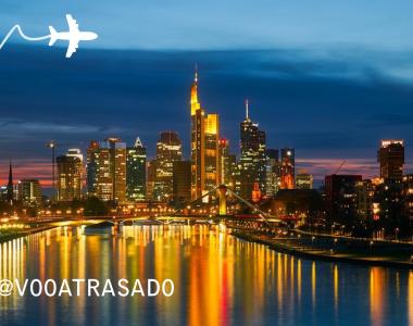 Empresa Voo Atrasado mediou acordo de viagem frustrada na Pandemia com destino Final a Frankfurt.